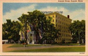 Maine Augusta The Augusta House Curteich