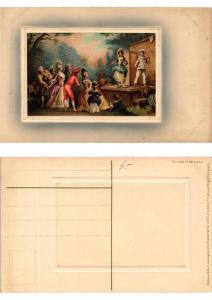 CPA Miniaturen Folge Meissner & Buch Litho Serie 1573 (730509)