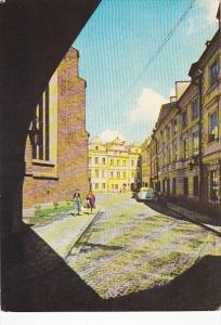 Poland Warsaw Ulica Kanonie