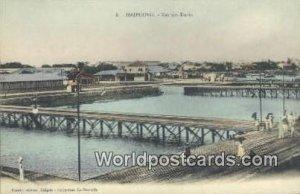 Vue des Docks Haiphong Vietnam, Viet Nam Unused