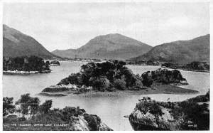 The Islands, Upper Lake Killarney Valentine's Postcard