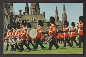 Regimental Band On Parliament Hill, Ottawa, Ontario - Unused c1960