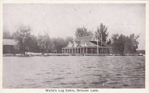 Indiana Delavan Lake Waite's Log Cabin