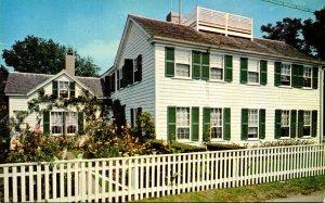 Massachusetts Martha's Vineyard Edgartown The Emily Post House and Garden