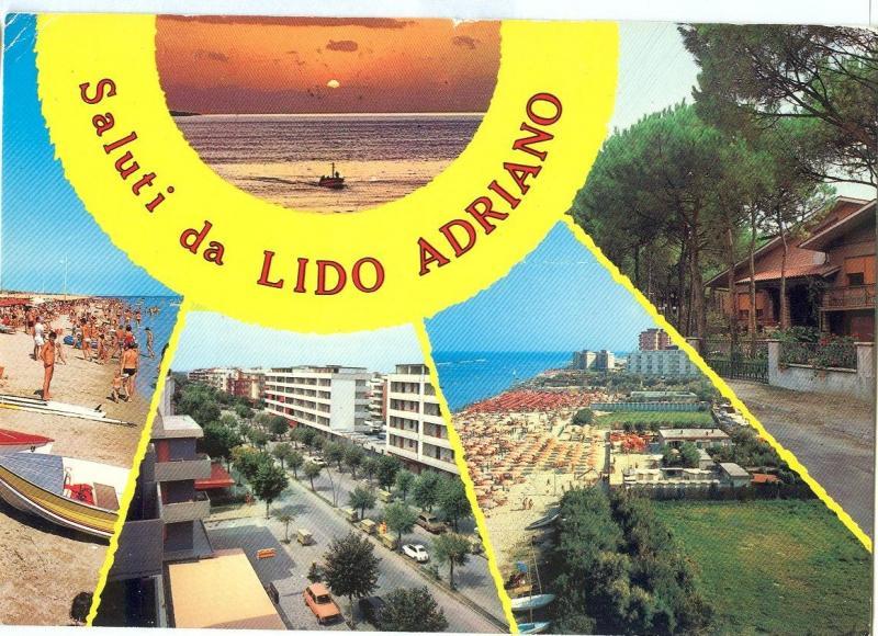 Italy, Saluti da Lido Adriano used Postcard