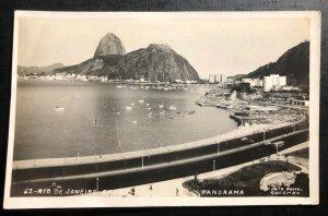 Mint Brazil Real Picture Postcard RPPC Rio De Janeiro Panorama