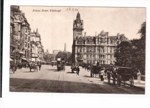 EDINBURGH, Scotland, 1900-1910's; Princes Street