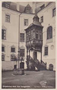 RP, Gripsholms Slott, Inre Borggarden, Sweden, 1920-1940s