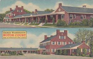 Virginia Fredrichsburg George Washington Motor Court