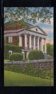 Virginia colour postcard Rotunda University of Virginia Charlottesville unused