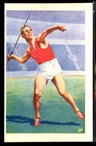 1952 Summer Olympics Helsinki Javelin Throw