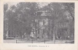 High School, Canastota, New York, 00-10