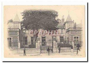 Orleans Postcard Old Hotel Hardouineau (cyclist)