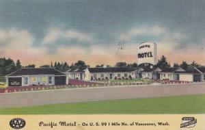 Exterior, Pacific Motel, Vancouver, Washington, 30-40s