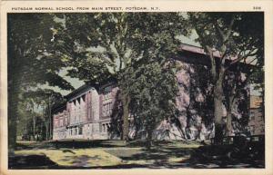 New York Potsdam Normal School From Main Street