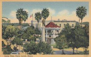 NUEVO LAREDO, Mexico, 1930-40s; Juarez Plaza