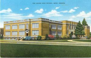 The Union High School Bend Oregon OR Linen
