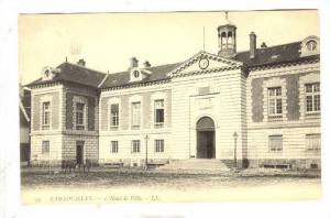 L'Hotel De Ville, Rambouillet (Yvelines), France, 1900-1910s