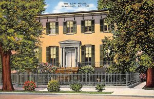 Scouts Post Card Low House Savannah, Georgia, USA Postcard Unused