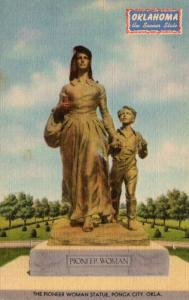 Oklahoma Ponca City The Pioneer Woman Statue