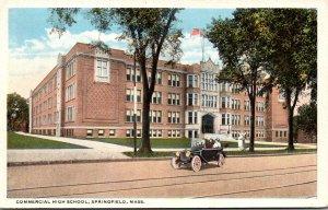Massachusetts Springfield Commercial High School 1917 Curteich