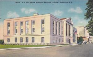 South Carolina Greenville Post Office