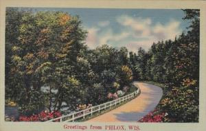 Wisconsin Greetings From Phlox
