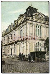 Old Postcard Bank Caisse d & # 39Epargne Rochefort
