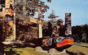 Canada Haida Memorial Carving, Thunderbird Park, Victoria, B.C. 1959