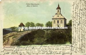 slovakia, BRATISLAVA PRESSBURG POZSONY, Mély ut Kápolná, Chapel (1903) Stamp