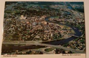 Vintage Postcard Fairbanks Alaska 1989 Golden Heart of Largest State  345