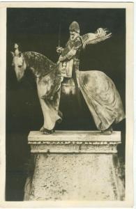 Verona Statua equestre della Tomba Cangrande degli Scaligeri