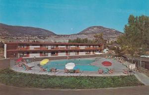 Swimming Pool of El Rancho Motor Hotel, Penticton, British Columbia, Canada, ...