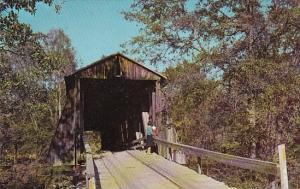 South Carolina Pickens County Chapmans Covered Bridge