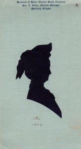 Female Silhouette ; Baker Theatre , Portland , )regon , 00-10s
