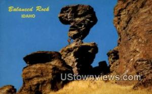 Balanced Rock Castleford ID Writing On Back