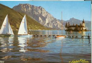 Austria, Schloss Ort, Gmunden, unused Postcard