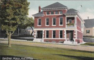 GARDNER , Massachusetts , 1900-10s ; Post Office