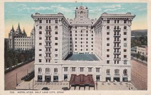 SALT LAKE CITY, Utah, 1900-1910s, Hotel Utah