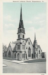 SHIPPENSBURG, Pennsylvania, 1900-1910s; Memorial Lutheran Church