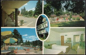 32620) North Carolina ASHEVILLE Ever Green Motel - 612 Merrimon Ave. - Chrome