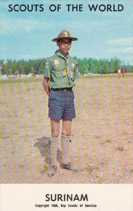 Boy Scouts Of The World In Uniform Surinam