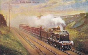 England The North British Express Train