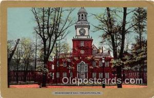Independence Hall Philadelphia, PA Postcard Post Card Philadelphia, PA Indepe...