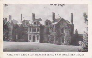 New Jersey Far Hills Kate Macy Ladd Convalescent Home 1952