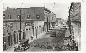 RP, MATAMOROS , Mexico, 1930s ; Calle Real