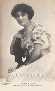 Doris Keane as Rachel Neve in The Hypocrties Theater Actor / Actress Unused