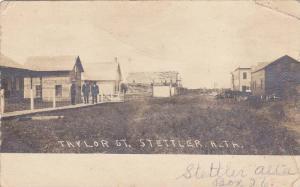 RP: Taylor Street , SETTLER , Alberta , Canada , PU-1907