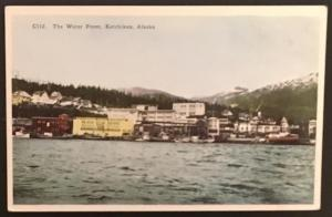 The Water Front Ketchikan Alaska H H T Co C112