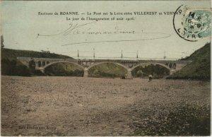 CPA Env. de ROANNE Le Pont sur la Loire entre Villerest et VERNAY (664276)